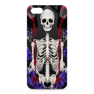 aconite&skeleton iPhoneケース