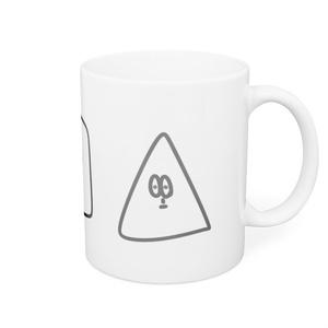 真顔マグカップ