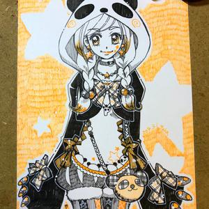 ☆オレンジ・パンダガール