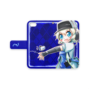 285系擬人化iPhone7カバー(青)