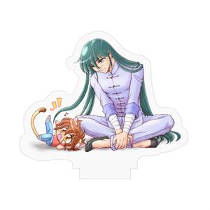 星矢猫&紫龍アクリルフィギュア