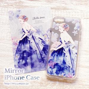 【受注生産】ミラーiPhoneケース【Noble Dress】