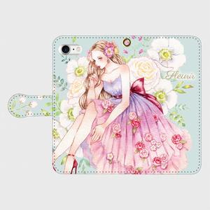 《受注生産》手帳型★iPhoneケース【fleurir】