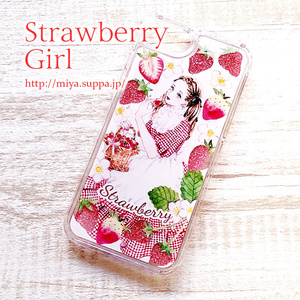 【季節限定】グリッターiPhoneケース