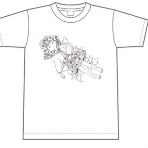 ZAN GIRL Tシャツ(ホワイト)
