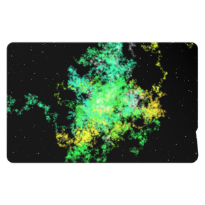 Pastel Galaxy(Green and Yellow)