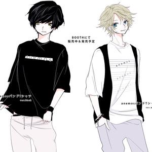 anemosバンドTシャツ(白)