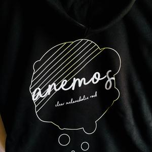 anemosパーカー(黒)