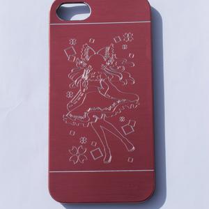 iPhone7/8メタルケース 霊夢