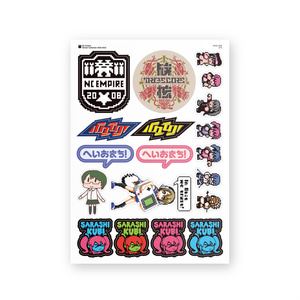 NC Empire Sticker Collection 2010-2015