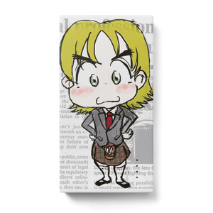 【モバイルバッテリー】ロコトルア民族衣装シリーズ2 スコットランド(カイル)
