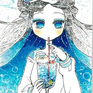 パスケース☆海野クリームソーダ