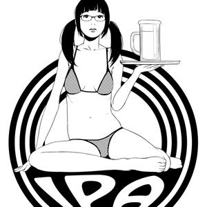 Girl & IPA Tee メガネver. Color