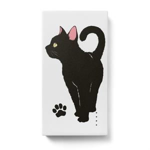 モバイルバッテリー 黒猫