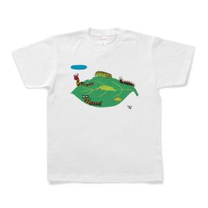 幼虫たちのTシャツ