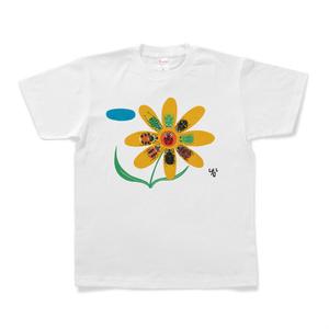 ハナムグリたちとテントウムシのTシャツ