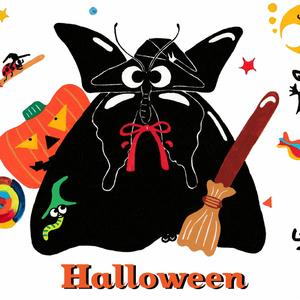 Halloweenのトートバッグ