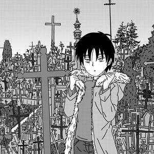 シャウレイ十字架の丘にて