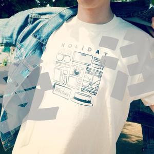 【受注】HOLIDAYモノTシャツ