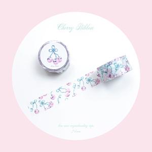 マスキングテープ[Cherry Ribbon]