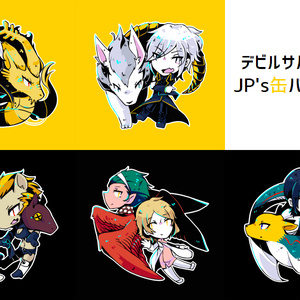 JP's缶バッジセット