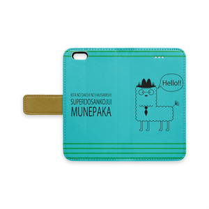 MUNEPAKA iPhone手帳型ケース