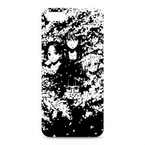 iPhone5/5sケース-側面あり(看板娘 - 春)