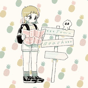 illustration book friend