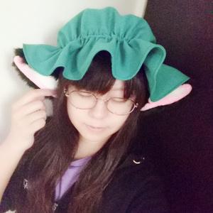 【送料込】ZUN帽 男女兼用 八雲橙(耳付き)ZUN帽子 例大祭