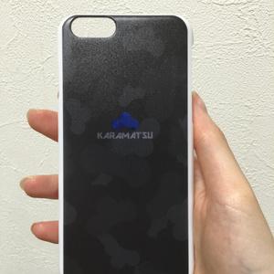 松迷彩シリーズ/iPhoneカバーカラ松
