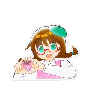 リスねぇステッカー02