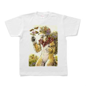 花蝶オオカミTシャツ
