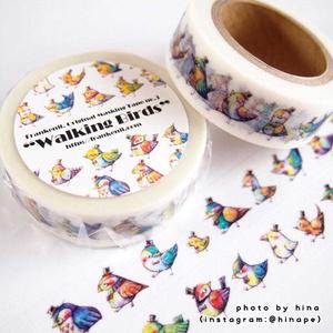 オリジナルマスキングテープ「Walking Birds.」
