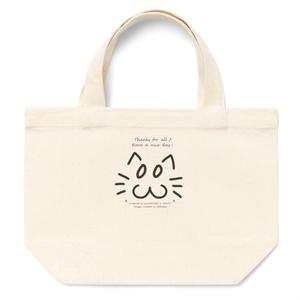 カラーセラピー 色彩療法 ホリスティック 光 音 周波数 夢の森 イラスト 手書き ロゴ お間抜け顔 cat ねこ 猫 トートバッグ
