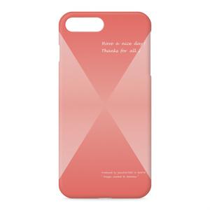 カラーセラピー 色彩療法 ホリスティック 光 音 周波数 すっきり スタイリッシュ 菱形 グラデーション ダイヤ柄 スマホカバー iPhone アイフォン 型枠 ケース