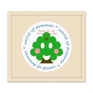 カラーセラピー 色彩療法 ホリスティック 光 音 周波数 夢の森 イラスト 手書き ロゴ forest 森林 plant 植物 山 はんこ 印鑑 マットレス