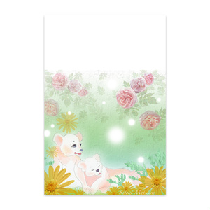Flowers and animals
