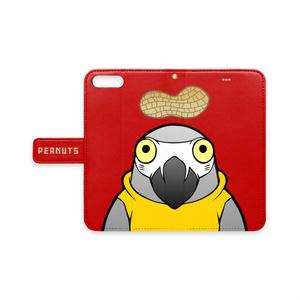 ヨウムの飛夏さん 手帳型iPhoneケース