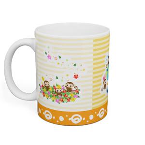 可愛いお猿さんのマグカップ