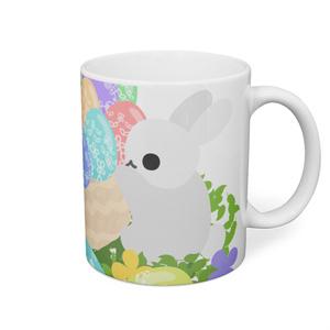 可愛いウサギちゃんのマグカップ