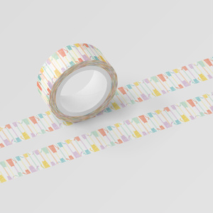 colorful cat tape