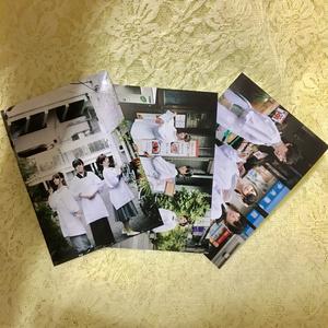 【ブロマイド】十二時食堂 3人ver.