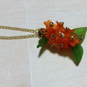 金木犀のネックレス(花華々シリーズ)