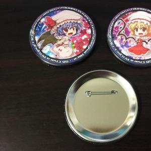 東方Project デフォルメ缶バッジ