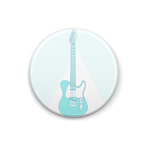 ライトグリーンギター。