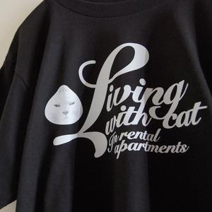 Livingwithcat ロゴTシャツ 半袖 5カラー