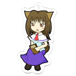 【★彡】コヨーテ・アクリルキーホルダー