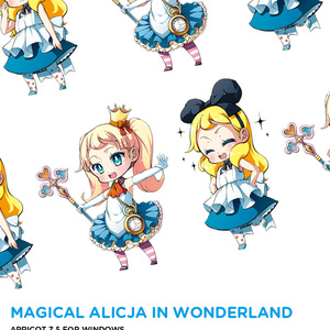 不思議の国のマジカル☆アリツィア (デスクトップマスコット Apricot 7.5)