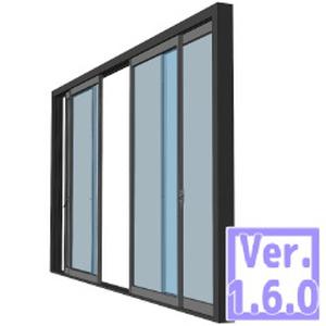 3D ベランダ窓(クリスタ1.6.0~専用)