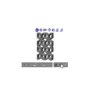 3D 立体シームレス六芒箱 素材集(クリスタ1.6.0~専用)